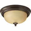 Progress Lighting (P3924-20T) 11-3/8 Inch Flush Mount