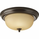 Progress Lighting (P3925-20T) 13-1/4 Inch Flush Mount