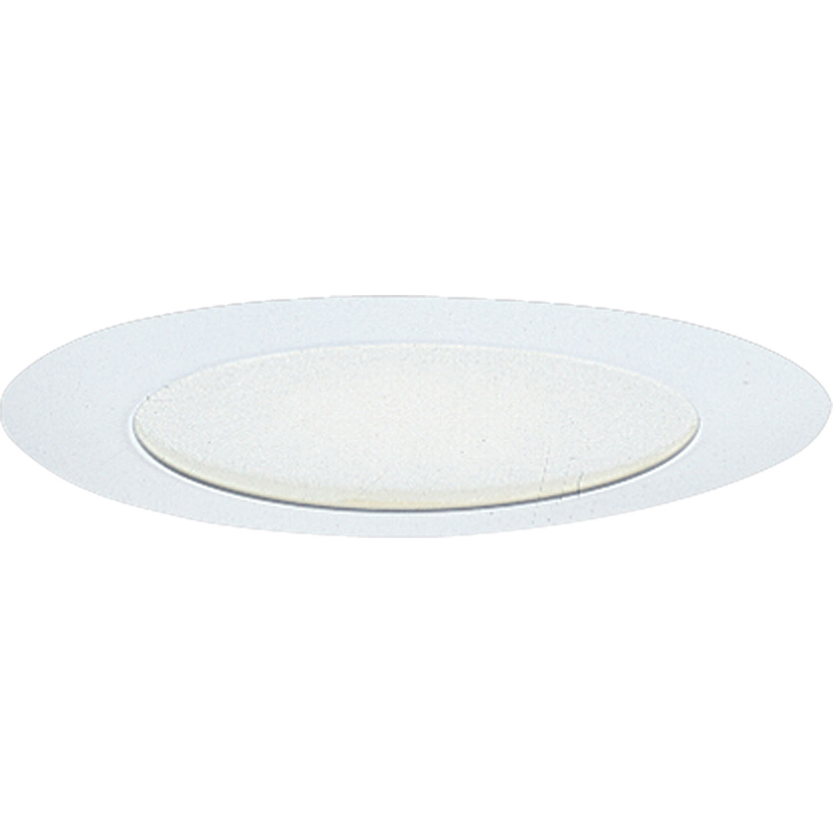 Recessed lighting glass trim : Progress lighting p albalite glass recessed trim