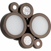 Progress Lighting (P2026-74WB) Bingo 2-Light Bath & Vanity Fixture with Bulbs