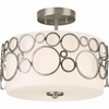 Progress Lighting (P3741-09) Bingo 2-Light Semi-Flush Mount