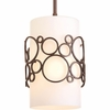 Progress Lighting (P5314-74) Bingo 1-Light Mini-Pendant