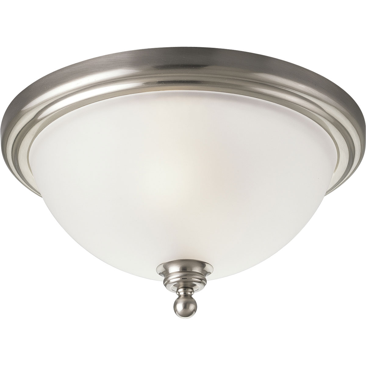 Close to ceiling track lights : Progress lighting p madison inch flush mount