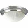 Progress Lighting (P3762-09EBWB) Melon 2-Light Flush Mount