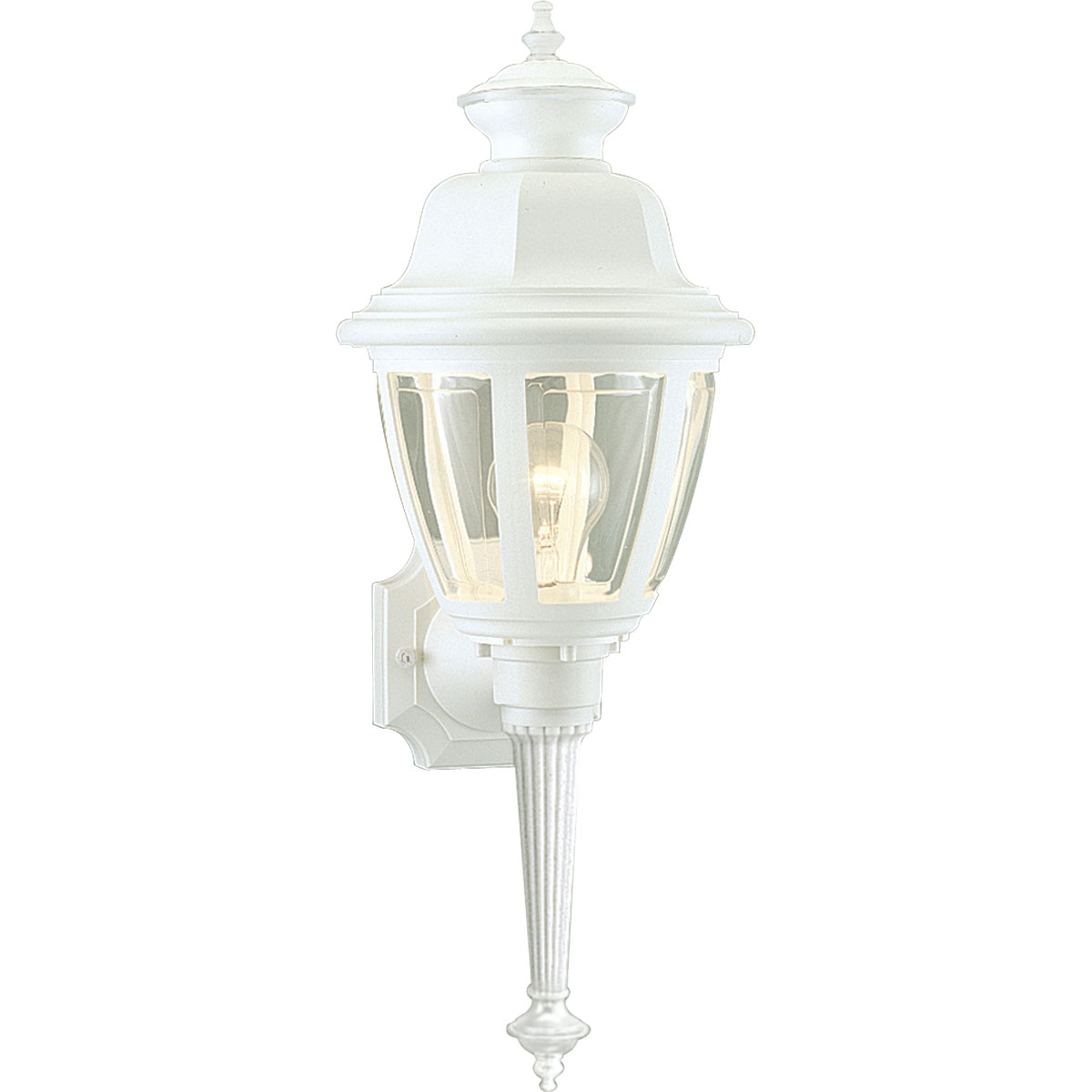 Progress Lighting (P5738-30) Non-Metallic Incandescent 1-Light Outdoor Wall Lantern