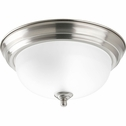Progress Lighting (P3924-09ET) 11-3/8 Inch Flush Mount