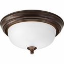 Progress Lighting (P3924-20ET) 11-3/8 Inch Flush Mount