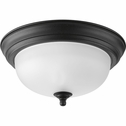 Progress Lighting (P3924-80) 11-3/8 Inch Flush Mount