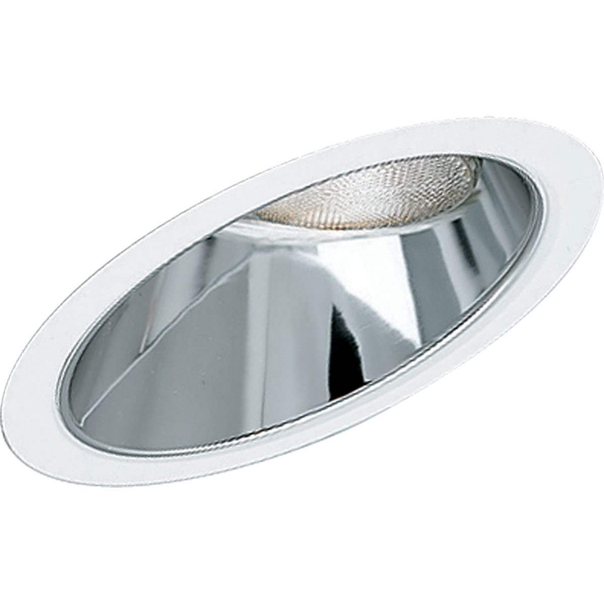 Installing Recessed Lighting Sloped Ceiling : Progress lighting p sloped ceiling recessed trim