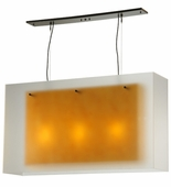 2nd Avenue Lighting (5633.18.MED) Quadrato Pendant shown in Custom Finish