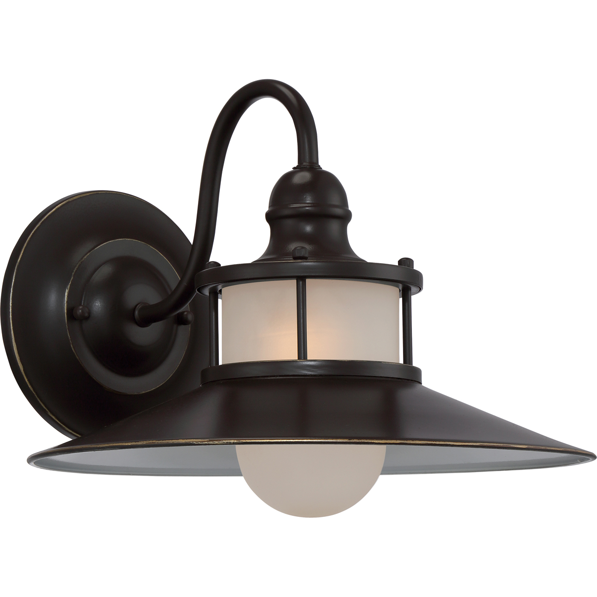 Quoizel Lighting (NA8414PN) New England Outdoor Wall Sconce in Palladian Bronze