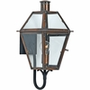 Quoizel Lighting (RO8410ACFL) Rue De Royal Outdoor CFL Wall Sconce in Patinaed Solid Copper with Antique Highlights