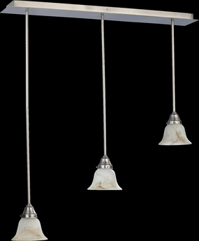 Quorum International (7-3) 3-Light Pendant Canopy