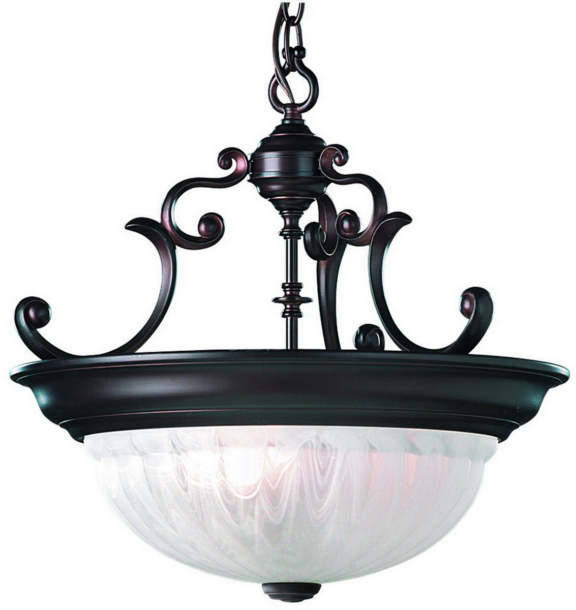 Dolan Design 527 30 Richland 3 Light Pendant in Royal Bronze