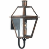 Quoizel Lighting (RO8410AC) Rue De Royal Outdoor Wall Sconce in Patinaed Solid Copper with Antique Highlights