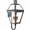 Quoizel Lighting (RO8414AC) Rue De Royal Outdoor Wall Sconce in Patinaed Solid Copper with Antique Highlights
