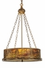 Meyda Tiffany (30168) 22 Inch Width Mountain Pine Inverted Pendant