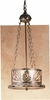 Meyda Tiffany (48347) 10 Inch Width Mountain Pine Inverted Pendant