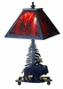 Meyda Tiffany (32480) 15.5 Inch Height Buffalo Accent Lamp