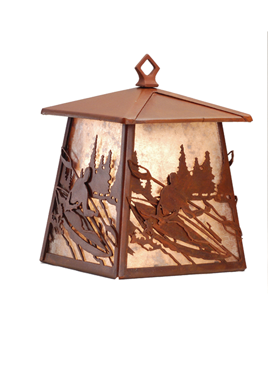 Meyda Tiffany (82656) 7.5 Inch Width White Water Kayak Hanging Wall Sconce