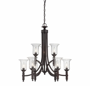 Savoy House (1-7131-9-13) Trudy 9 Light Chandelier in English Bronze
