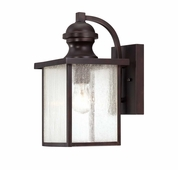 Savoy House (5-601-13) Newberry 13-1/2 Inch Height Exterior Wall Lantern in English Bronze