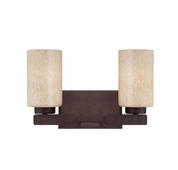 Savoy House (8-5435-2-117) Berkley 2 Light Bath Bar in Heritage Bronze
