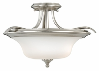 "Vaxcel Lighitng (C0013) Sonora 17"" Semi-Flush Mount"