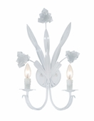 Crystorama (4812-WW) Southport 2 Light Wet White Sconce