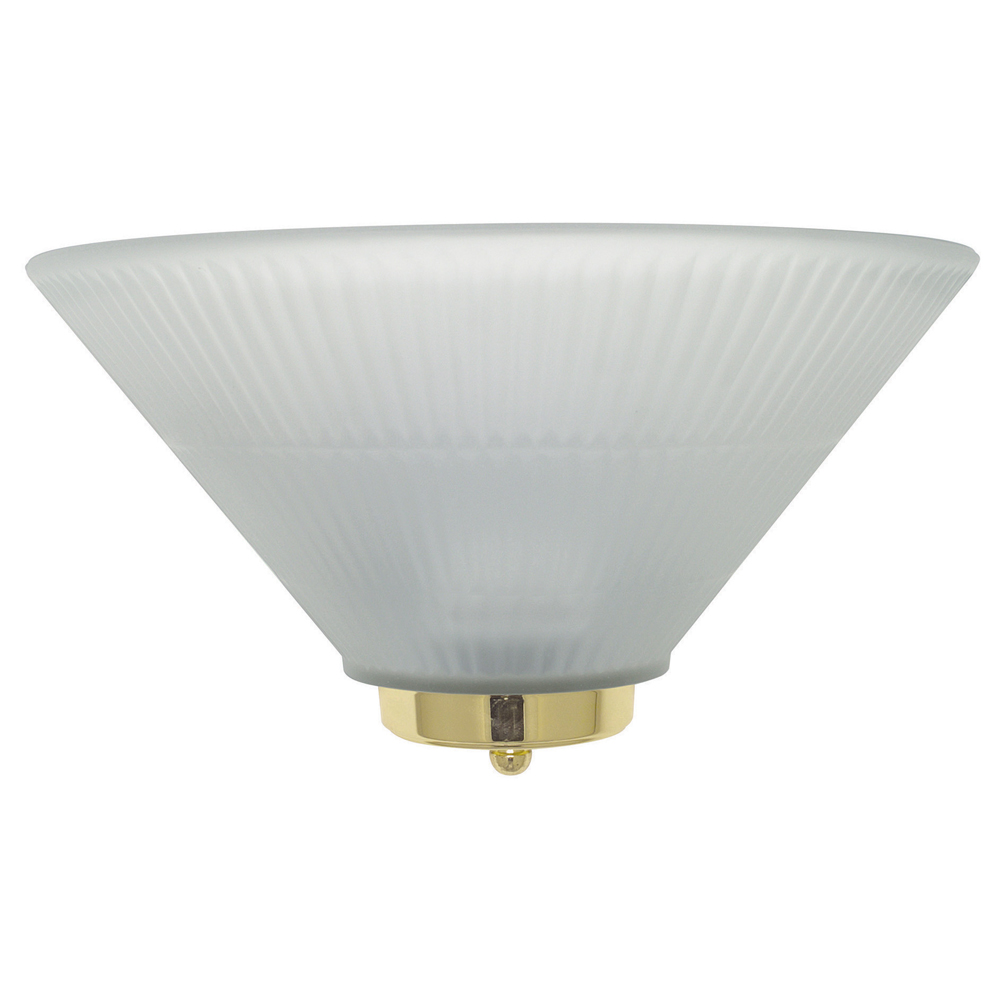 Wall Sconce With Prismatic Glass : Sunset Lighting F9004 One Light Wall Sconce with Frosted Prismatic Glass