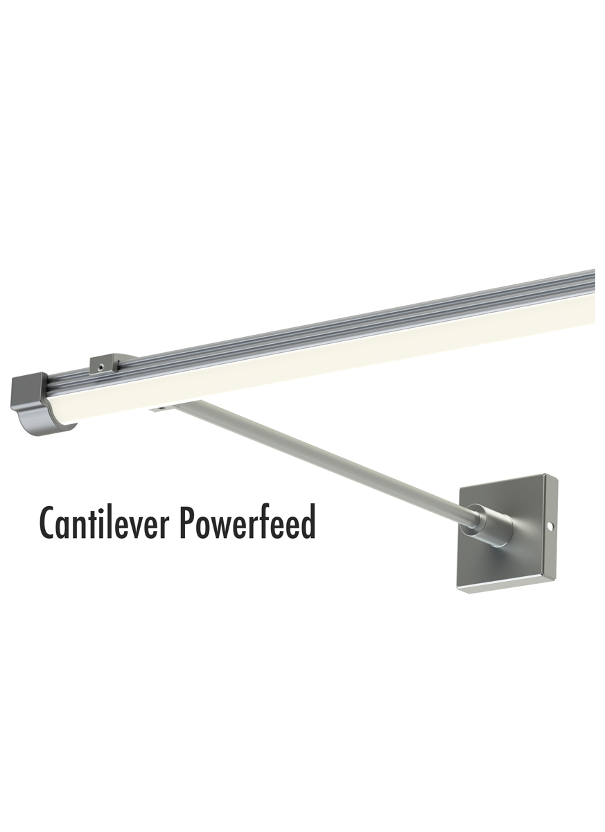 Tech Lighting (700UMCP) Unilume Micro Channel Cantilever Powerfeed