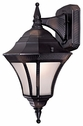 The Great Outdoors (8202-94-PL) Segovia 1 Light Outdoor Wall Mount