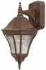 The Great Outdoors (8201-61) Segovia 1 Light Outdoor Wall Mount