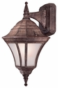 The Great Outdoors (8202-61-PL) Segovia 1 Light Outdoor Wall Mount