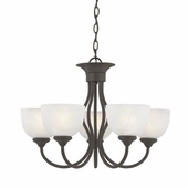 Thomas Lighting Tahoe 5-light Chandelier in Painted Bronze finish - SL801563