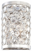 Metropolitan Lighting (N2750-613) Magique 2 Light Wall Sconce shown in Polished Nickel