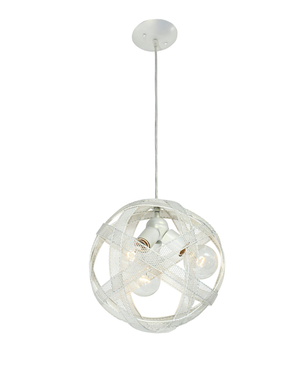 varaluz lighting 39 s at mesh sphere 228p03pe modern 3 light pendant