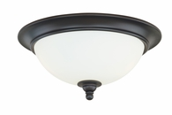 "Vaxcel Lighitng (C0051) Darby 13"" Flush Mount"