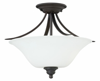 "Vaxcel Lighitng (C0053) Darby 15"" Semi-Flush Mount"