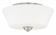 "Vaxcel Lighitng (C0060) Calais 13"" Flush Mount"
