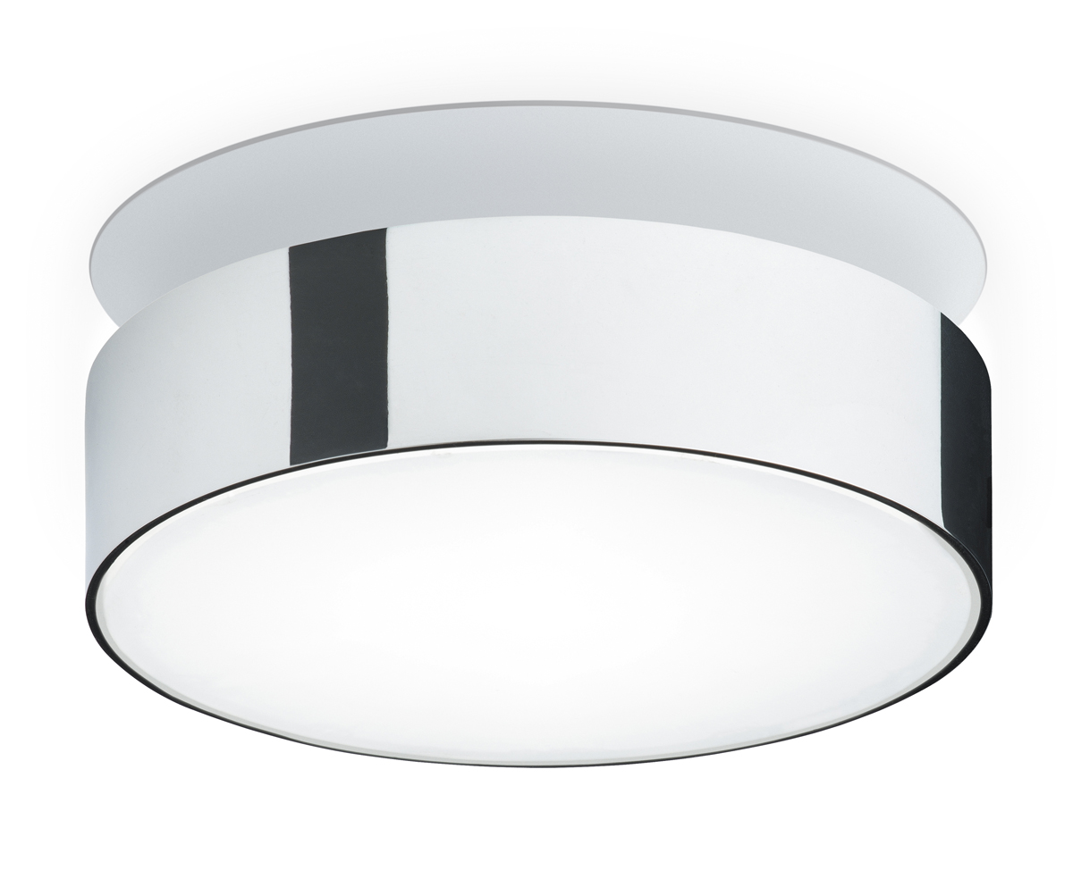 Vibia Lighting (8633) Basiko Collection: Ceiling/Wall Round Semi-Flush Mount