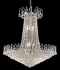 Elegant Lighting (8031D29) Victoria 16-Light 29 Inch Dining Room Crystal Fixture shown in Chrome Finish