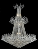 Elegant Lighting (8031G32) Victoria 18-Light 32 Inch Foyer/Hallway Crystal Fixture shown in Chrome Finish