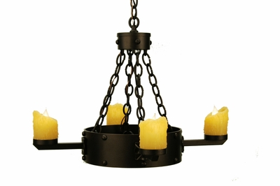 Meyda Tiffany (67972) 24.5 Inch Width Kingston 4 Light Chandelier