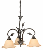 Vaxcel Lighitng (CH38803) Vine 3 Light Chandelier