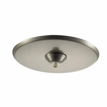 WAC Lighting (QMP-1RN-TR) Surface Mount Round Canopy Metal For Quick Connect Pendants/Fixtures