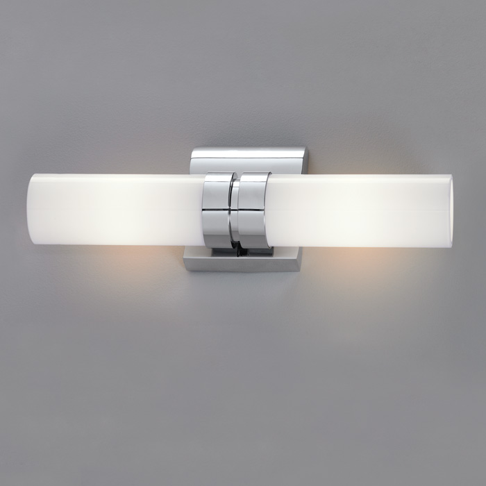 Vertical Wall Sconces Bathroom : Wave Double Horizontal-Vertical Wall Sconce in Brushed Nickel finish by Norwell Lighting - 8902 ...
