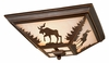 "Vaxcel Lighitng (CC55614) Yellowstone 14"" Flush Mount"