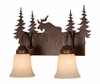 Vaxcel Lighitng (VL55602) Yellowstone 2 Light Vanity
