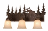 Vaxcel Lighitng (VL55603) Yellowstone 3 Light Vanity